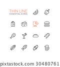 icon, line, set 30480761