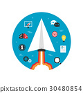 paper plane startup imagination 30480854
