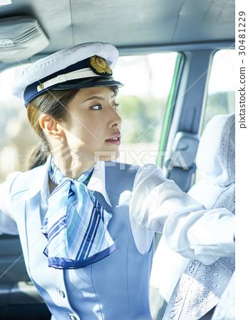 出租車女司機回安全確認 30481229