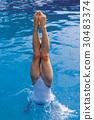 Leg, diving, Water 30483374