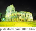 건축, 로마, 야경 30483442