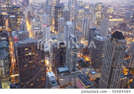 시카고,일리노이주,미국 30484484