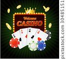 casino, sign, banner 30485151