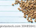 Dry kibble dog food. 30485641