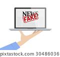 Provide Fake News Concept. 30486036
