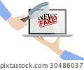 Provide Fake News Concept. 30486037
