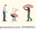 香腸 燒烤 農民 30486061