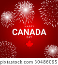 Fireworks for national day of Canada 30486095