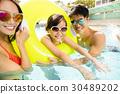 水池 快乐 幸福 30489202