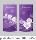 vector flower banner 30489457