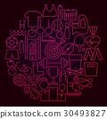 circle, concept, icon 30493827