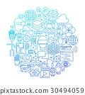 design, icon, line 30494059