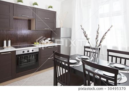 Interior of a dining room 30495370