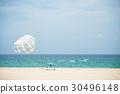Parasailing on the beach in Karon beach 30496148