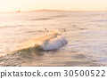 California Surfing at Sunset  30500522
