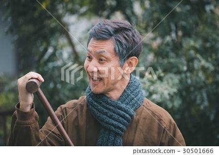 年長 男人 男 30501666