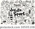 기호, 벡터, 스포츠 30505108