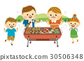 barbecue, barbecued, barbeque 30506348