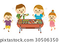 barbecue, barbecued, barbeque 30506350