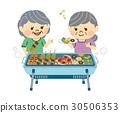 바베큐, BBQ, 여성 30506353