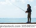 釣魚 捕魚 男人 30506597