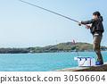 釣魚 捕魚 男人 30506604