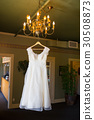 Vintage Wedding Dress Hanging 30508873