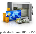 Safe and credit card 30509355