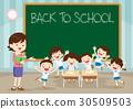 teacher pupil back to school 30509503