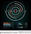 雷达 屏幕 图标 30512415