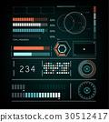 雷达 屏幕 矢量 30512417
