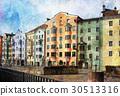 Streets of Innsbruck, Austria 30513316
