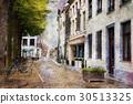 Streets of Maastricht, Netherlands 30513325