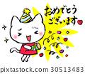 생일, 메시지카드, 고양이 30513483