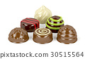 Mix of chocolate candies 30515564