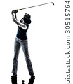 Golfer Woman playing 30515764