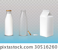bottle, set, icon 30516260