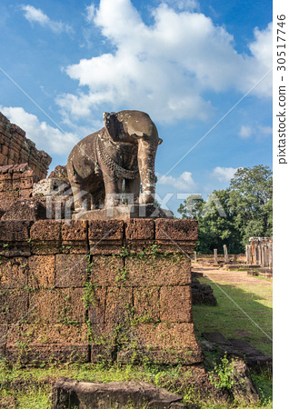 Elephant sculpture in East Mebon temple 30517746