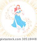 Icon dancing woman 30518448