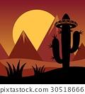 Cactus background 30518666