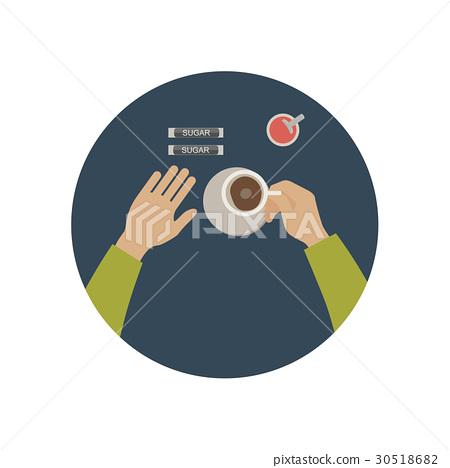 Coffee break icon 30518682