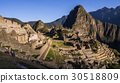 Machu Picchu Inca city, Peru at sunrise 30518809