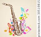 background, saxophone, music 30519815