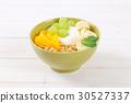 muesli granola yogurt 30527337