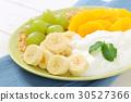 muesli granola yogurt 30527366