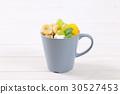 muesli granola yogurt 30527453