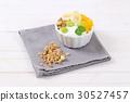 muesli granola yogurt 30527457