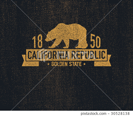 California t-shirt with grizzly bear. 30528138
