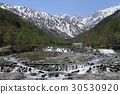 Northern Alps in May Maybe after the Tateyama mountain range murder 30530920