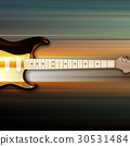 background electric guitar 30531484